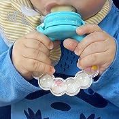 2pcs PChero bebé Feeder los chupetes – Uno con realizar llamadas empuñadura – con chupete Clips y 3 silicona Pezones repuesto