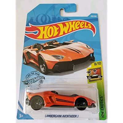 Hot Wheels 2020 Hw Exotics - Lamborghini Aventador J, Orange 223/250: Toys & Games