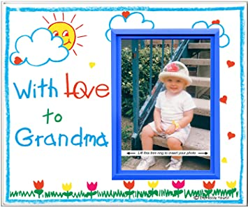 with love to grandma picture frame gift