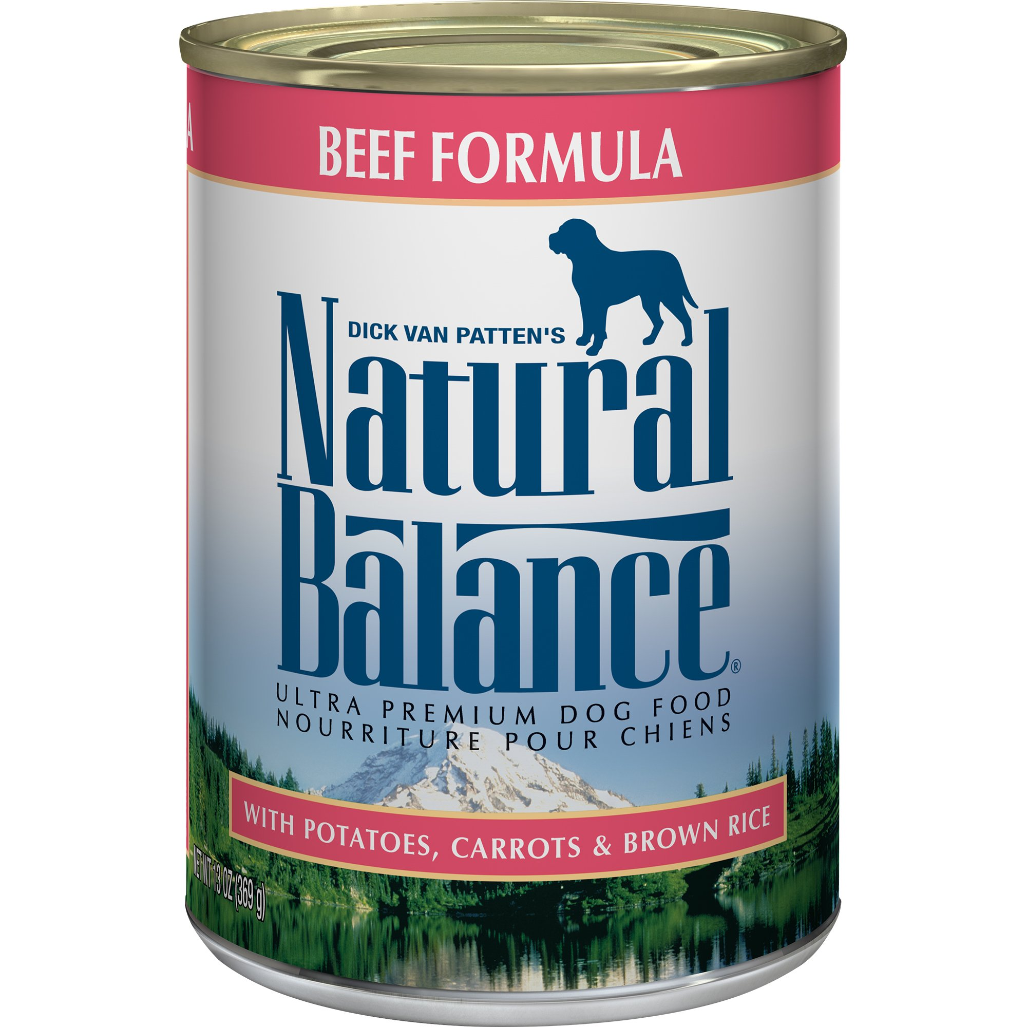 Natural Balance Ultra Premium Wet Dog Food, 13 Ounce, Pack of 12 by Natural Balance