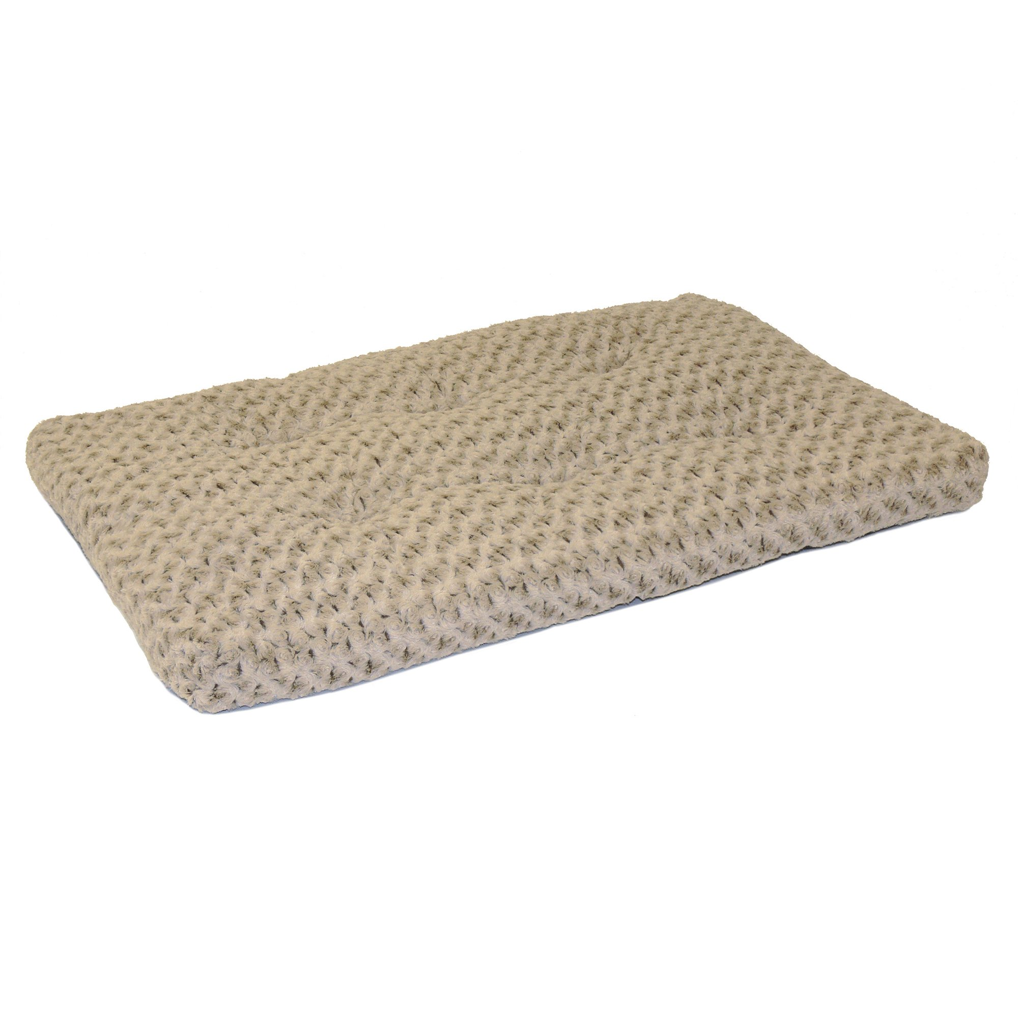 MidWest Quiet Time Pet Bed Deluxe Mocha Ombre Swirl 46'' x 29''