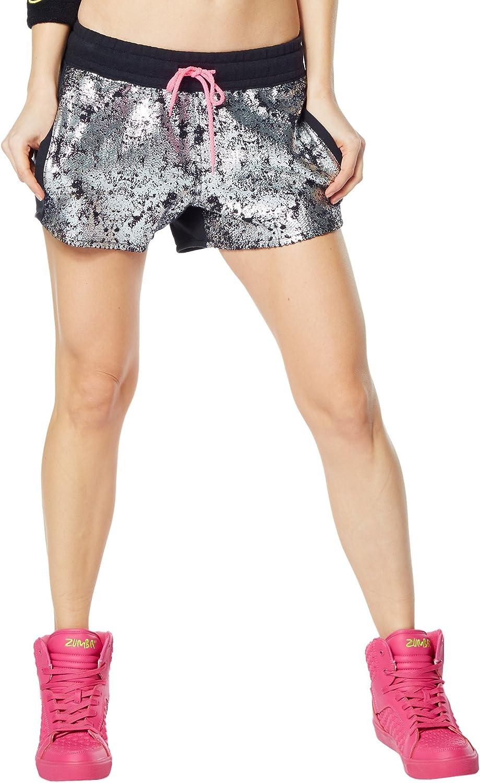 Zumba Womens Shinin' On You Shorts
