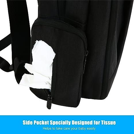 Amazon.com: konvinit carriola para mochila para pañales (con ...