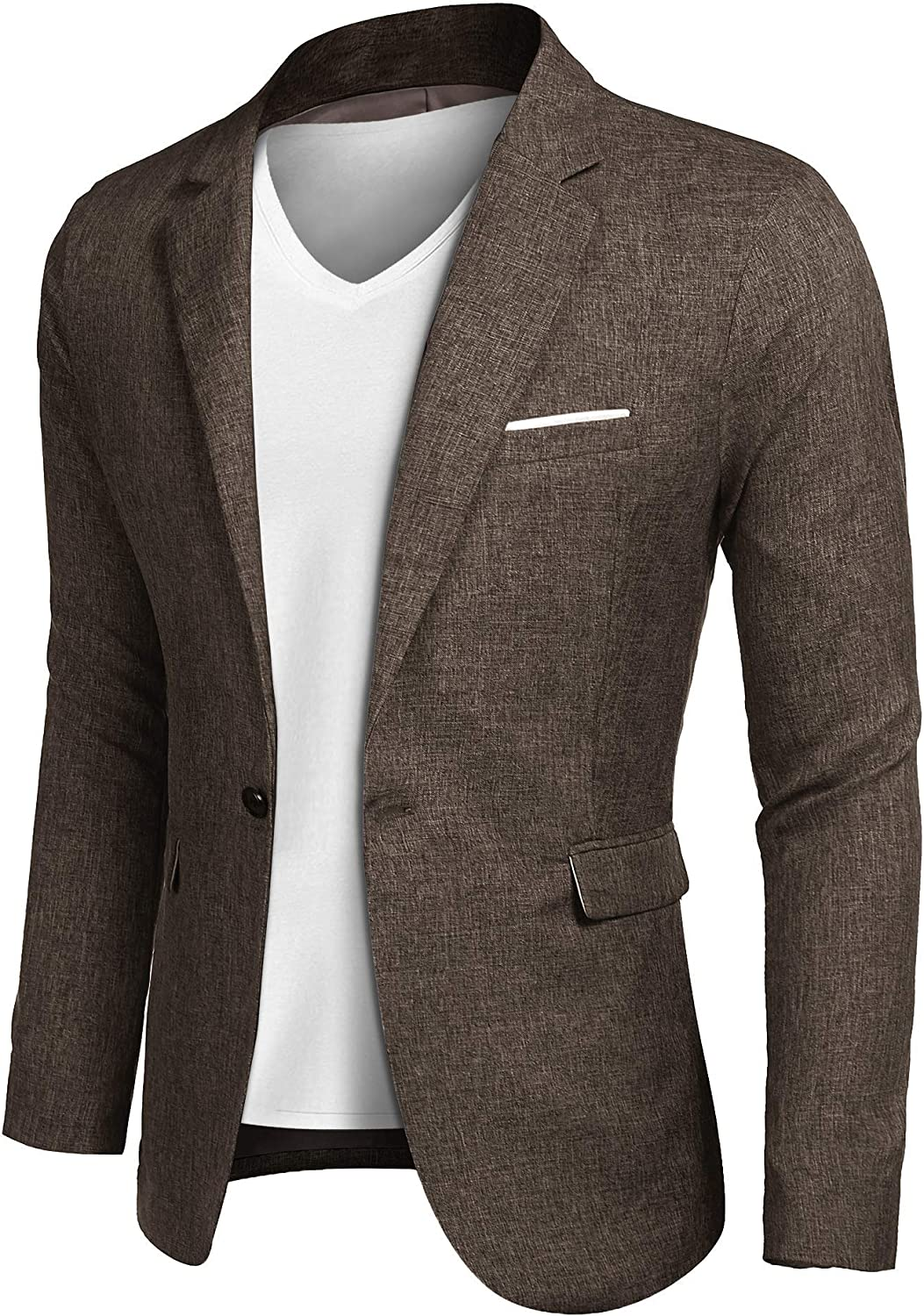 The Best Sleeve Slim Office Blazer With Stand