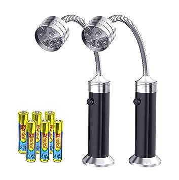 FIREOR Barbacoa Parrilla luz, magnético Flexible LED luz/luz de Trabajo para Asar para