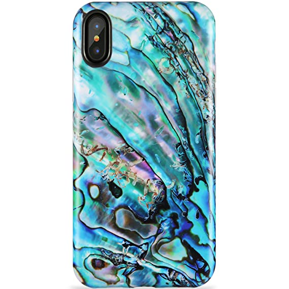 buy cheap 56716 4c45b ZADORN iPhone X Case,iPhone Xs Case,Slim Fit Cute Green Shell Best  Protective Phone Case for Women Girls Clear Bumper Soft Silicone TPU Thin  Cover ...