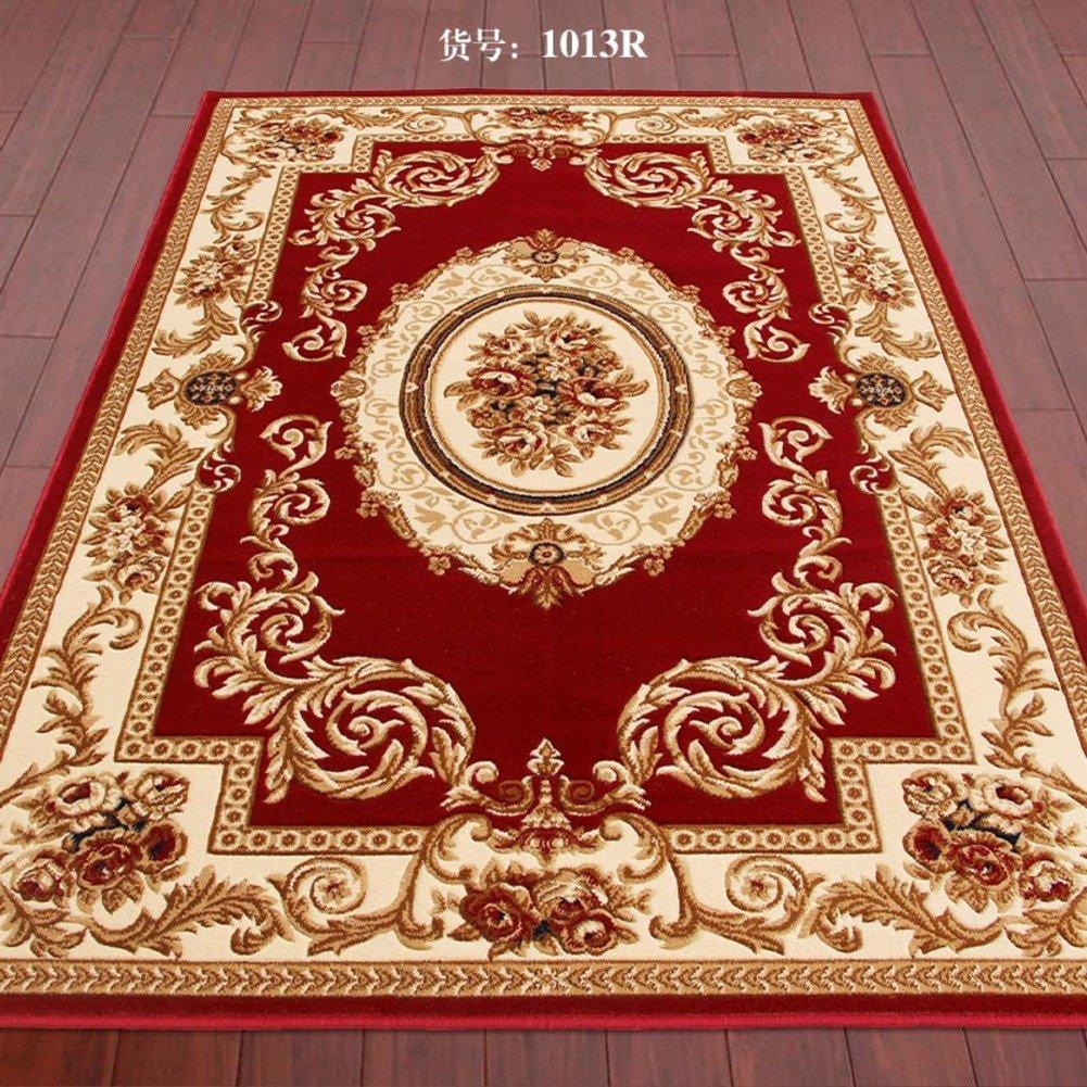 DXG&FX Blanket for living room and tea table Bedroom bedside mats Non-slip door carpet-G 200x280cm(79x110inch)