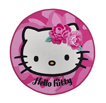 Character World Hello Kitty Tapis En Forme De Sommerwind HELSOMRU001UK  Décoration De Chambre Du0027enfant