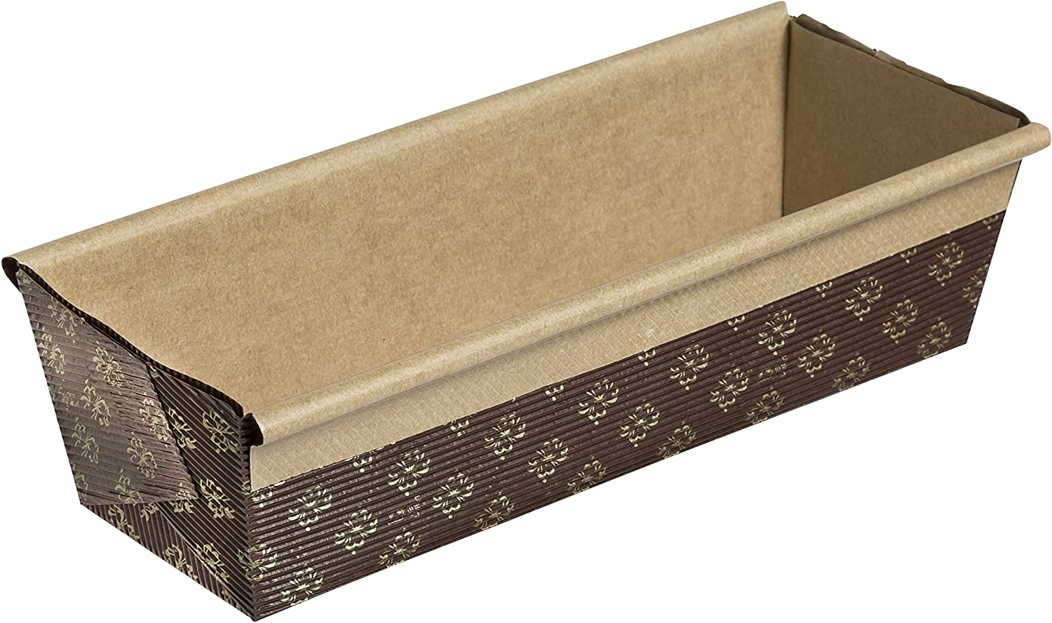 Honey-Can-Do Paper Loaf Pan, 25-Pack, 8-Inches x 2.5-Inches x 2-Inches