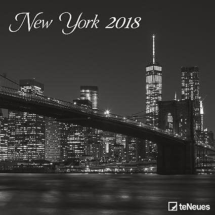 Calendario 2018 Nueva York negro y Blanc- central park ...