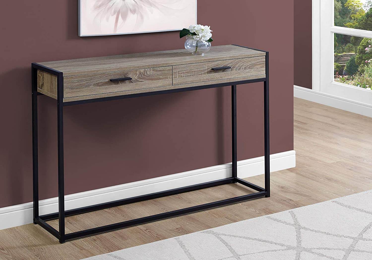 - Amazon.com: Monarch Specialties I Accent, Console Table, TAUPE