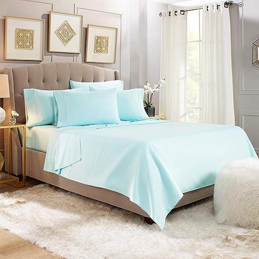 Amazon Com 6 Piece Cal King Sheets Bed Sheets Cal King Size
