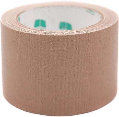 BookGuard Brand 3 White Colored Premium-Cloth Book Binding Repair Tape 15 Yard Roll