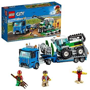 Lego 60223 City Great Vehicles Harvester Transport Construction Set