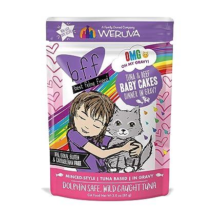 Weruva Best Feline Friend Tuna Beef Baby Cakes
