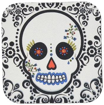 Amazoncom 3drose Janna Salak Designs Day Of The Dead Skull Dia De