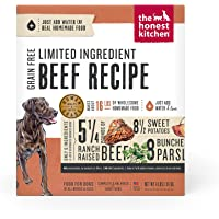 The Honest Kitchen Human Grade Limited Ingredient Dehydrated Grain Free Dog Food – Complete Meal or Dog Food Topper