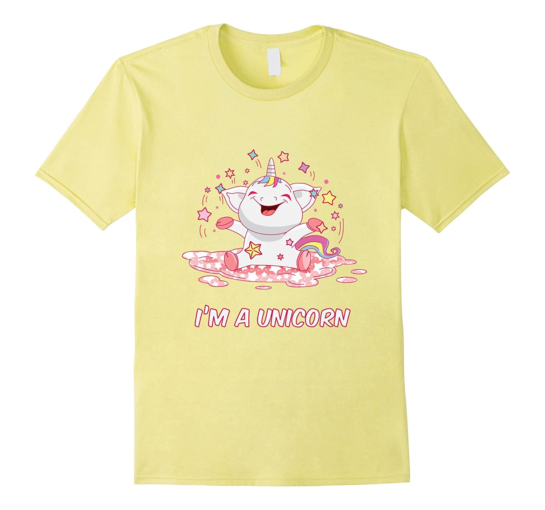 I'm a Unicorn Glitter Shirt – Cute Baby Uni Corn T-Shirt
