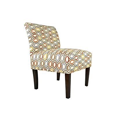 Amazon Com Homelegance 1191f4s Armless Accent Chair