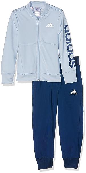 Kinder & Jugend ADIDAS Kinder Trainingsanzug Jogginganzug Sportanzug schwarz/blau Gr.116