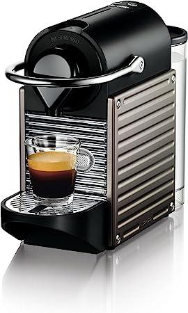 Breville-Nespresso USA BEC420TTN1AUC1 Pixie Espresso Machine, Titan