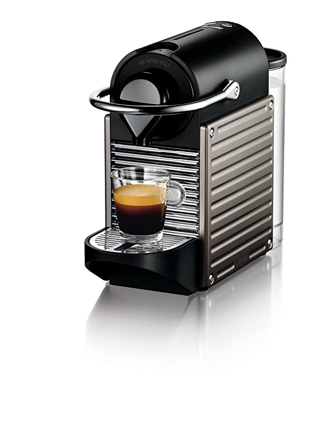 Amazon.com: Nespresso Pixie Espresso Machine by Breville, Titan ...