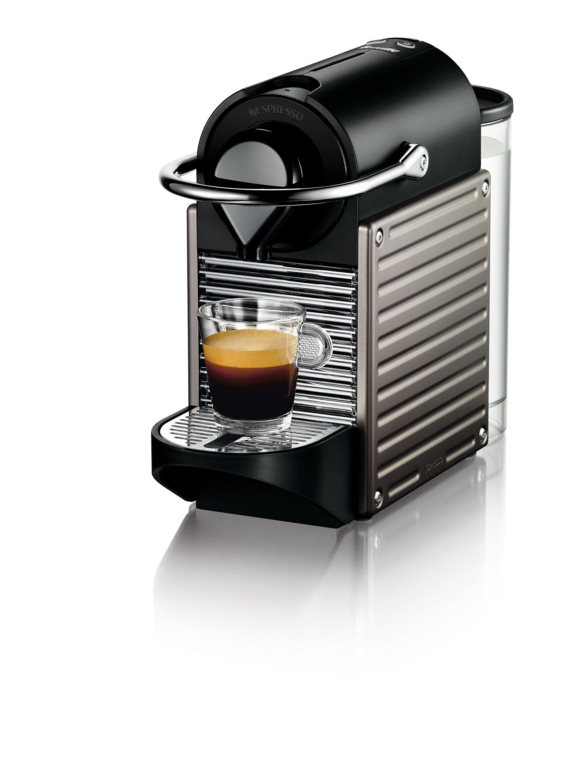 Nespresso Pixie Espresso Machine by Breville, Titan by Breville