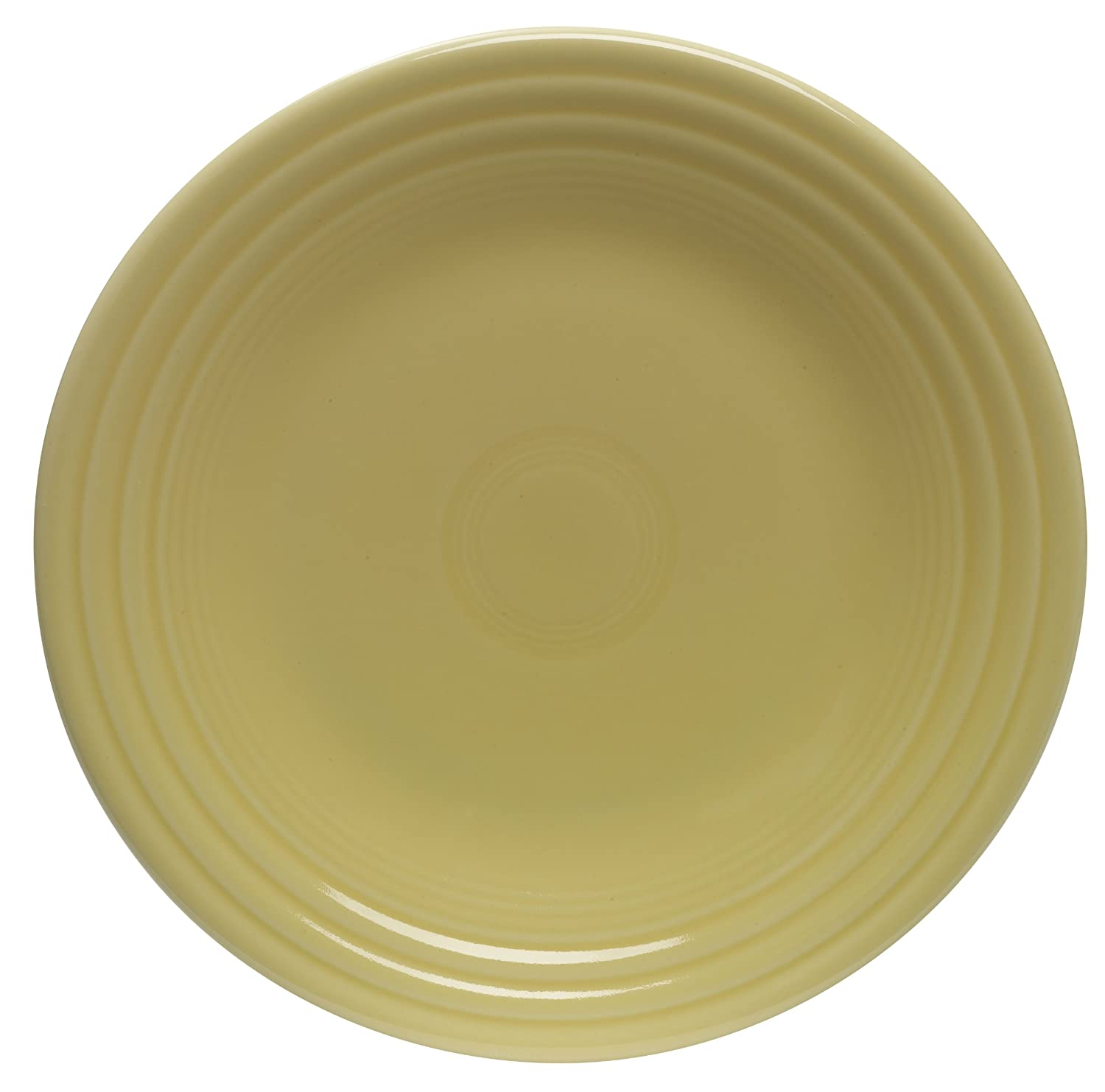 Fiesta 9-Inch Luncheon Plate, Sunflower by Homer Laughlin