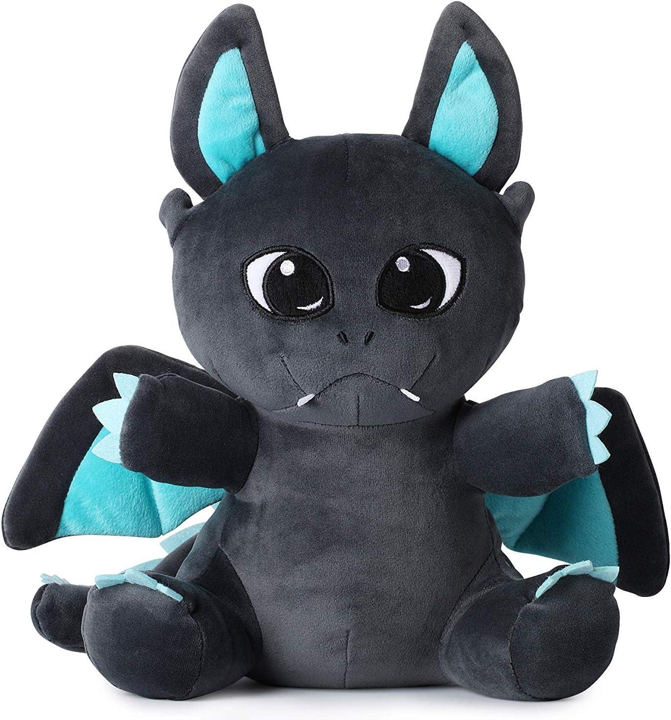 Corimori (6+ modelos) Animal de Peluche Juguete para Bebés y Niños, 30 Cm, Spark El Dragón, color negro, azul (1849-006)