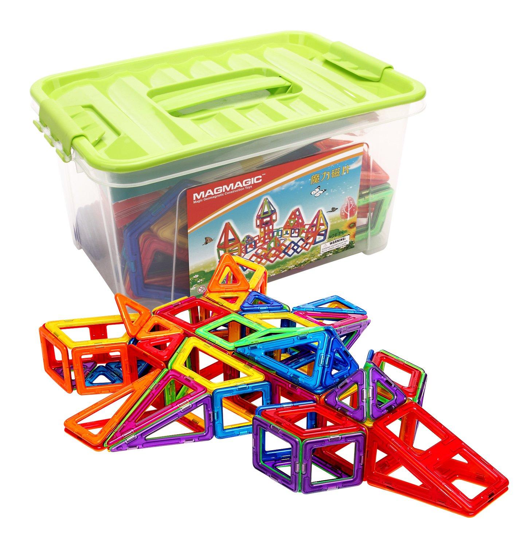 Amazon Magmagic Building Block Magnetic Toys 108 Pcs