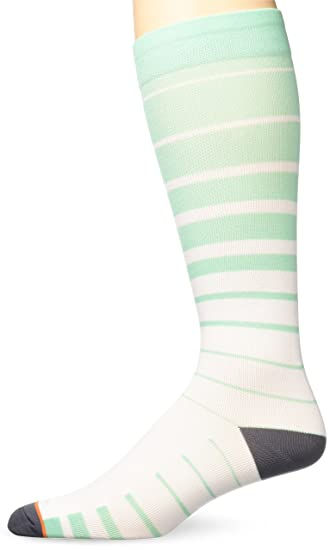 cb7e033795 Amazon.com: Prestige Medical Printed Compression Socks, Aqua Sea ...
