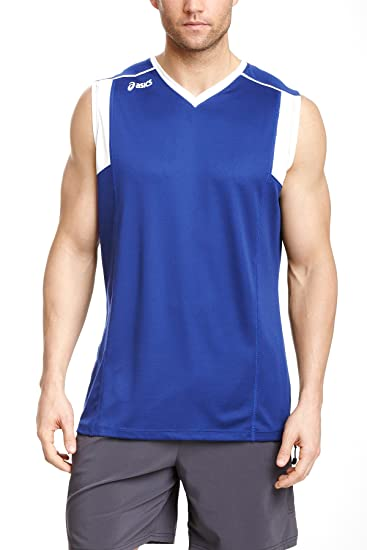 c1c65912eb059 ASICS Men's Top Spin Jersey at Amazon Men's Clothing store: