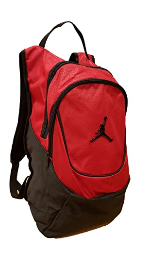 fa3ec18b6ff50b Amazon.com  Nike Jordan Jumpman 23 Round Shell Style Backpack - Red  Sports    Outdoors