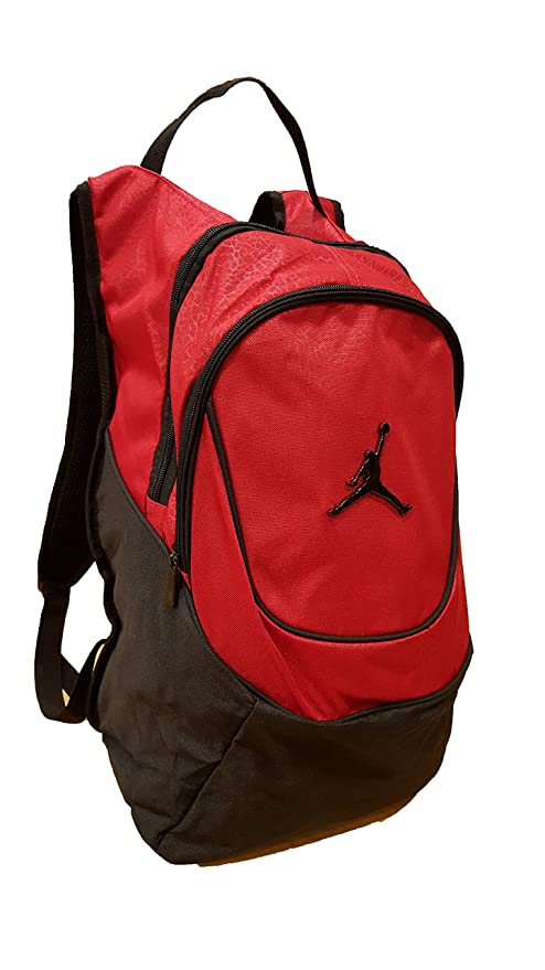 890ef02519b Amazon.com: Nike Jordan Jumpman 23 Round Shell Style Backpack - Red: Sports  & Outdoors