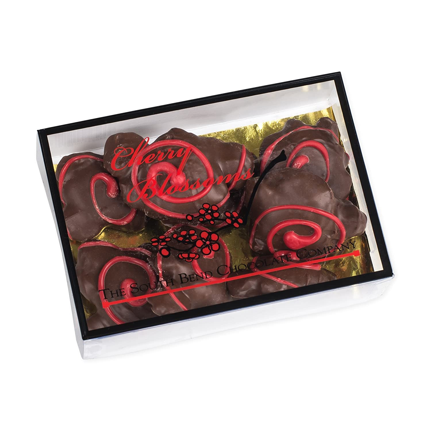 Amazon Com Cherry Blossoms Chocolate Pecan Turtles 5 Ounce Gift