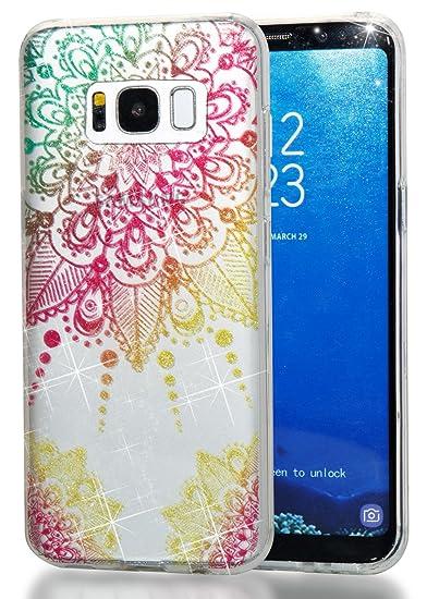 Galaxy S7 Case, Thin Soft TPU High Transparent Flash Powder MID Phone Cover  for Samsung GalaxyS7 G9300 G930 G930F G930V G930A G930P G930T