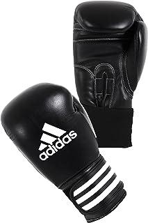 adidas Gants de boxe Performer climacool noir blanc cuir 14 oz