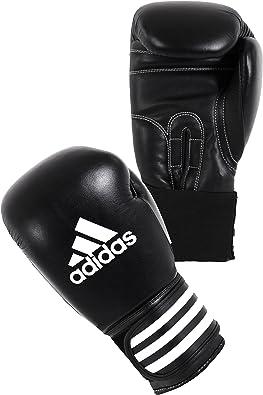 adidas Gants de boxe Performer climacool noir blanc cuir 14