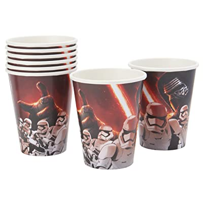 Star Wars Episode VII Cups, 9 oz., Party Favor: Kitchen & Dining