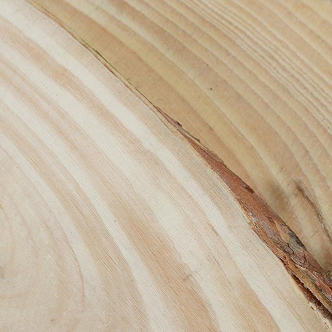 Winomo 2 Dischi Ovali In Legno Per Albero Con Corda Per Decorazioni Fai Da Te Amazon It Casa E Cucina