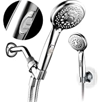 HotelSpa 7-setting AquaCare Series Spiral Handheld Shower with Pause Switch