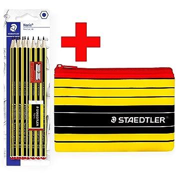Staedtler Noris - Estuche para lápices y lápices Noris HB ...