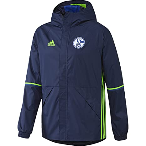 Herren Fc Rain Dark Adidas 04 Schalke Jacket Blue Regenjacke hrxdCstQ