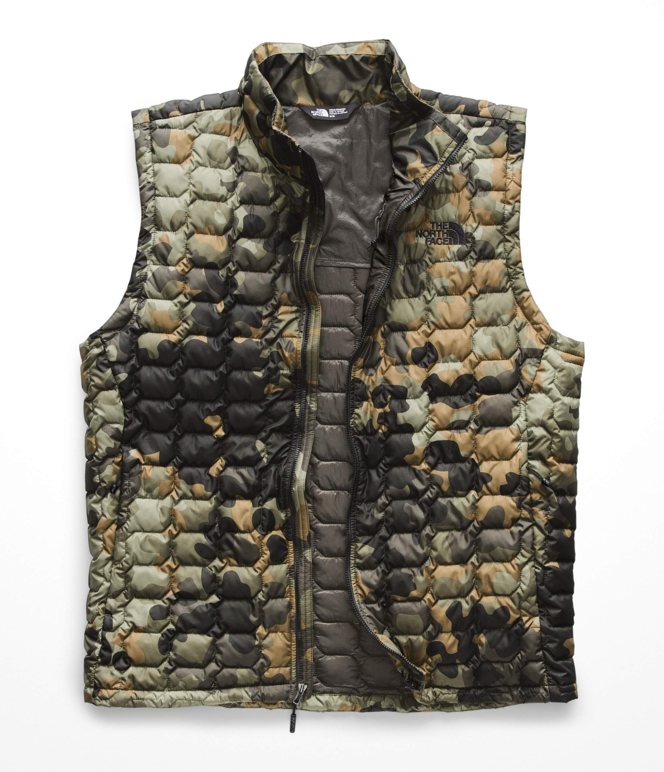 The North Face Men's Thermoball Vest - New Taupe Green Macrofleck Camo Print - XL by The North Face