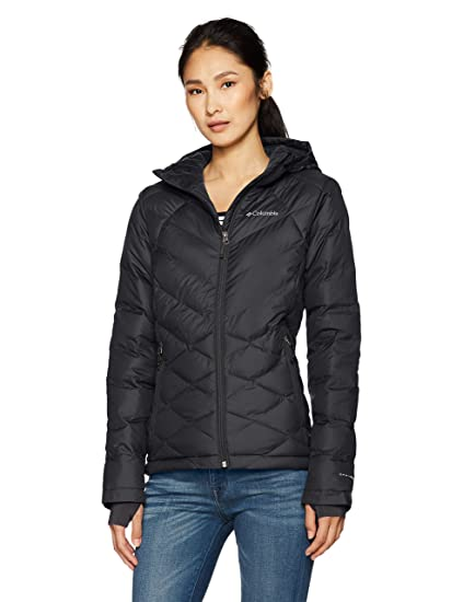 dacbc7862c Columbia Women's Heavenly Hooded Jacket, Black, X-Small
