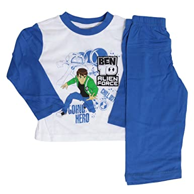10 Nightwearpyjama 2 Ben Set1 Force Sleeve Boys Years Alien Long DE2HeWY9I