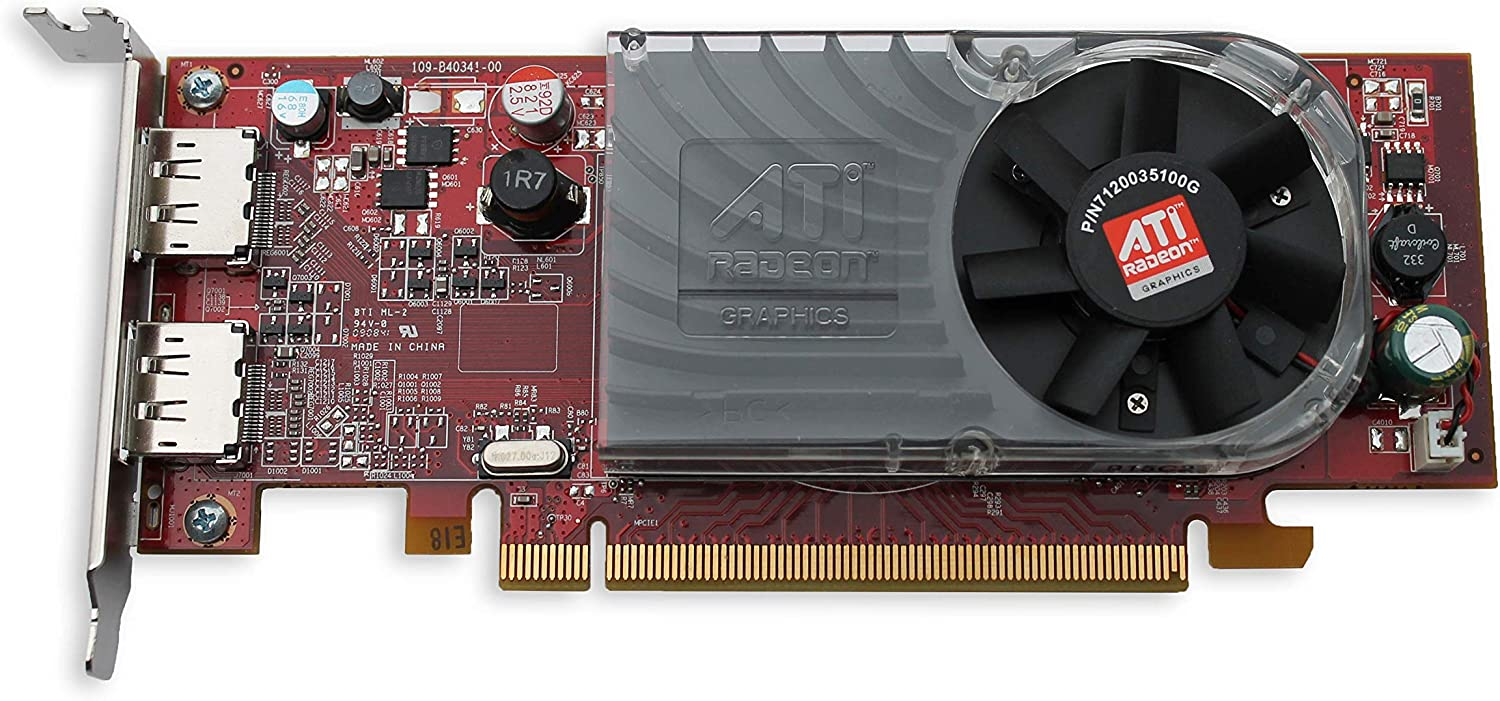 Epic IT Service - AMD Radeon HD 3470 Low Profile Graphics Card with Half Size Bracket, fits Slim / SFF Size Computer only