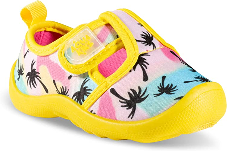 Aquakiks Water Aqua Shoes for Boys & Girls, Kids Waterproof Sandals Yellow  Size: 5 Toddler: Amazon.co.uk: Shoes & Bags