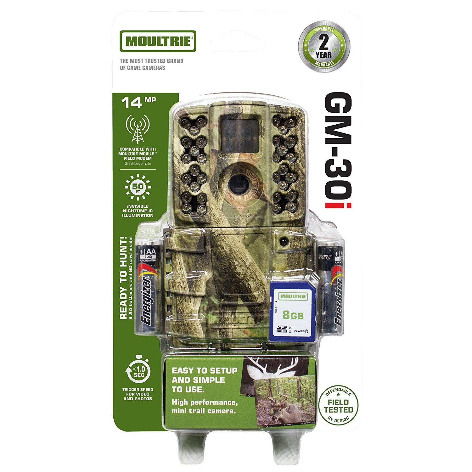 Moultrie A-30i 14 MP Infrared Game Trail Hunting Camera GM-30i by Moultrie (Image #1)