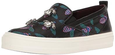 Nine West Women's Onoraah Fabric Walking Shoe, Black/Multi, ...